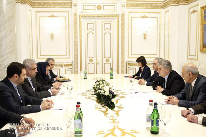 Վարչապետն ու Իրանի էներգետիկայի նախարարը երկու երկրների միջև տնտեսական հարաբերությունների զարգացման հարցեր են քննարկել
