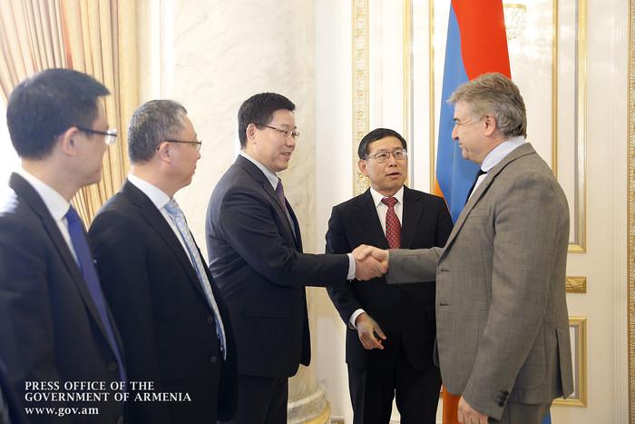 Կարեն Կարապետյանն ընդունել է Չինաստանի դեսպանին և Powerchina International Group Limited ընկերության փոխնախագահին
