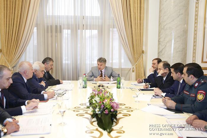 Կարեն Կարապետյանի մասնակցությամբ քննարկվել են Երևանում ճանապարհային երթևեկության արդյունավետ կազմակերպման հարցեր