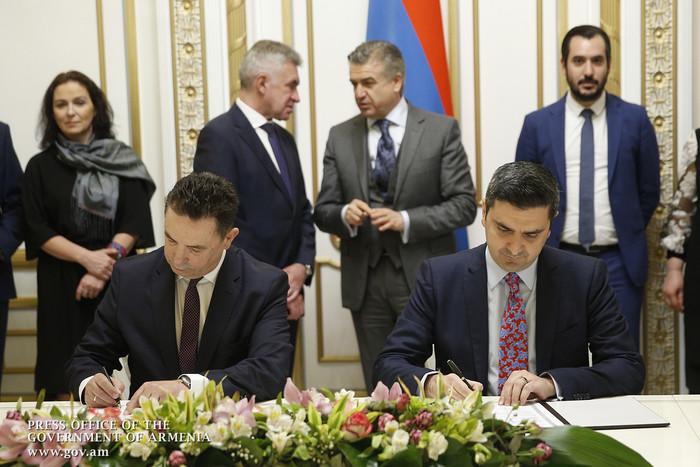 ՀՀ կառավարության և լեհական «Simed Construction» ընկերության միջև Փոխըմբռնման հուշագիր է ստորագրվել