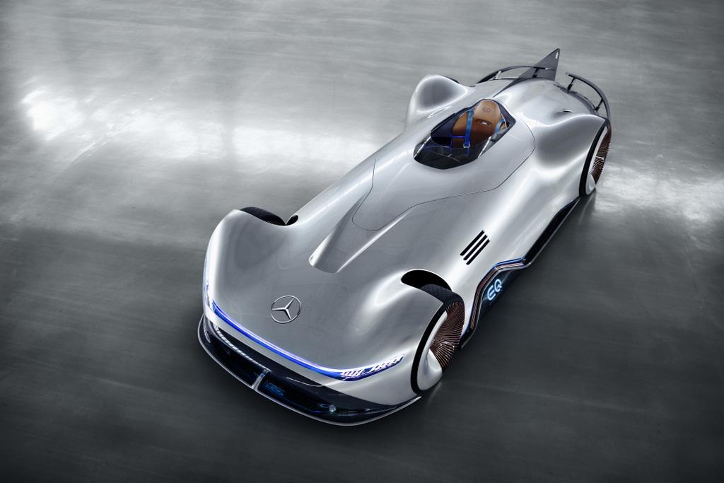 Mercedes-Benz-ը ներկայացրել է Vision EQ Silver Arrow սպորտային էլեկտրամեքենան