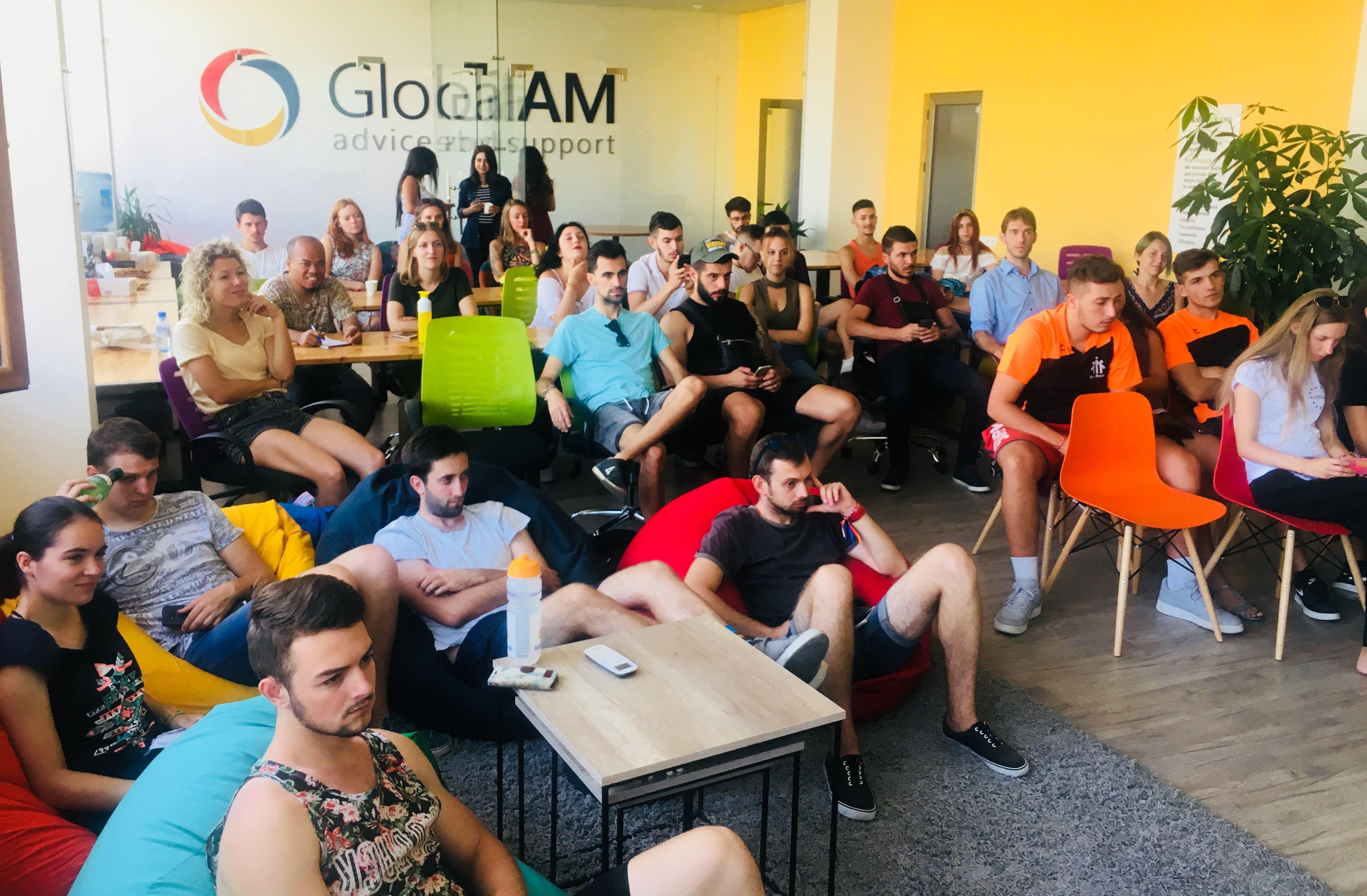 36 եվրոպացի ստարտափեր այցելել է GlobalAM-ի գրասենյակ