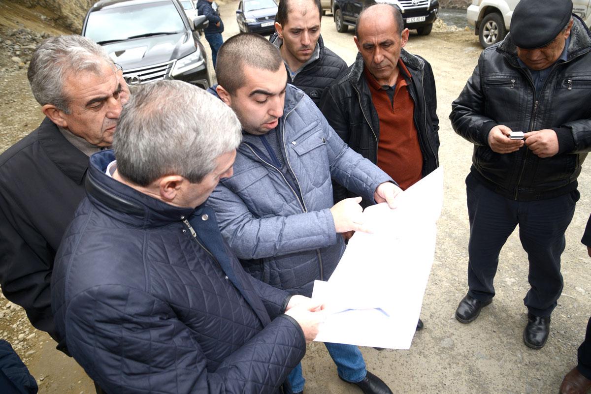 Վահան Մարտիրոսյանն այցելեց Վանաձոր-Ալավերդի միջպետական ճանապարհի շինտեղամասեր