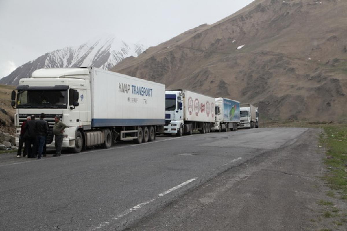 2018 թվականի հունվար-ապրիլ ամիսներին Հայաստանում բեռնափոխադրումների ծավալը 19.3 %-ով աճել է