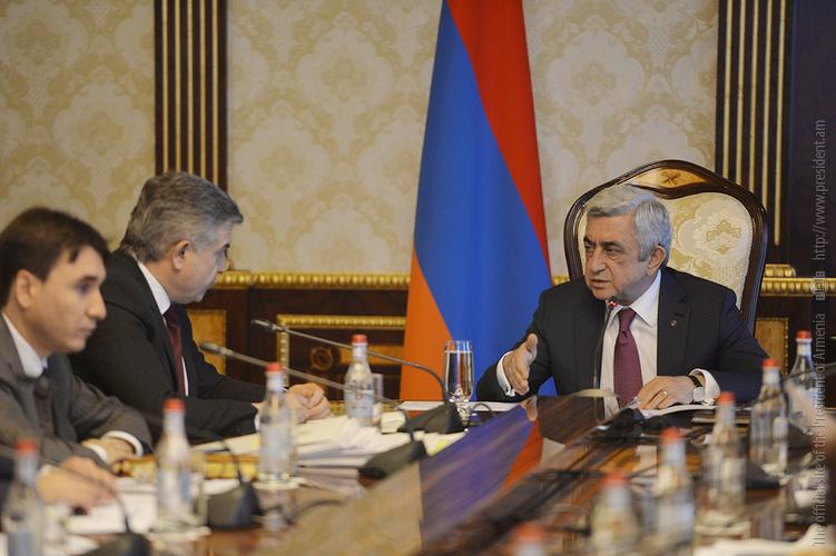 Նախագահի մոտ կայացած խորհրդակցությանը քննարկվել է «Հայաստանի զարգացման ռազմավարություն 2030» փաստաթղթի նախագիծը