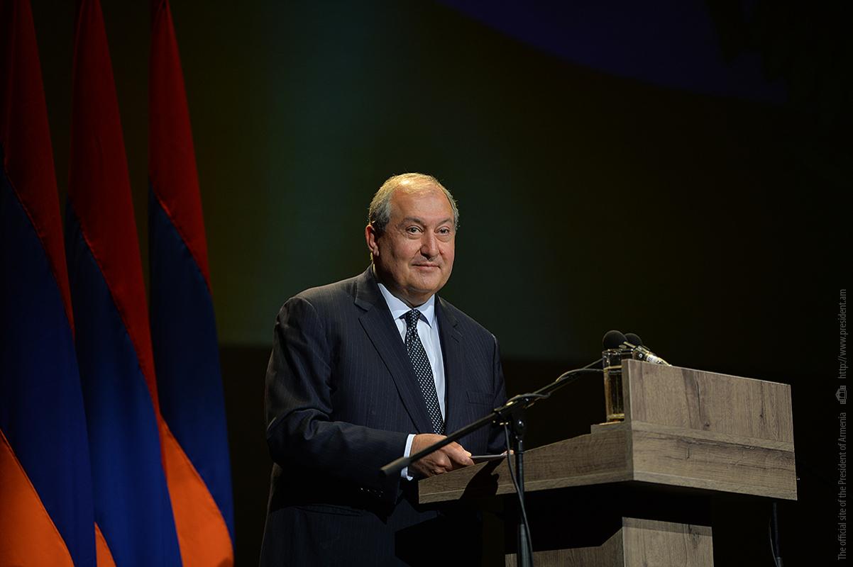 Արմեն Սարգսյան. Եկել է ժամանակը, որ հայ ժողովուրդը ծնի իր նոբելյան մրցանակակիրներին