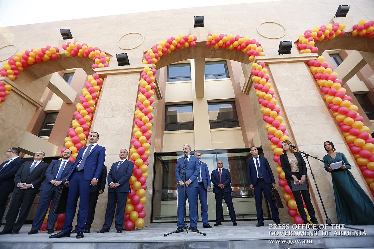 Հայ-չինական բարեկամության դպրոցի բացման հանդիսավոր արարողությունը՝ Նիկոլ Փաշինյանի մասնակցությամբ