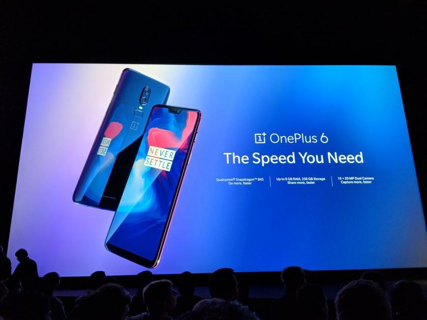 Ներկայացվել է OnePlus 6 սմարթֆոնը