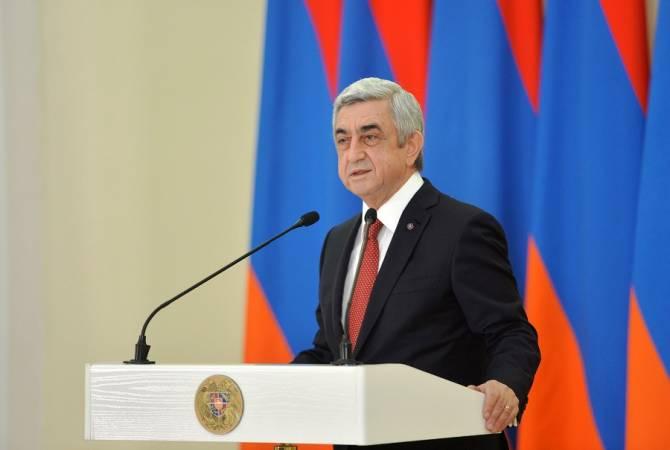 Սերժ Սարգսյանը չի բացառում, որ կառաջադրվի վարչապետի պաշտոնում
