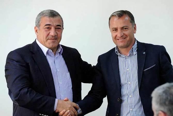 Վարդան Մինասյանը կրկին նշանակվեց Հայաստանի ֆուտբոլի հավաքականի գլխավոր մարզիչ
