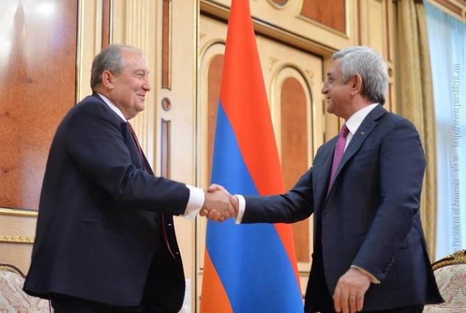 ՀՀ նախագահը ստորագրեց Սերժ Սարգսյանին վարչապետ նշանակելու հրամանագիրը