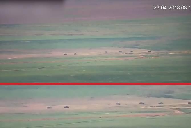 ՊԲ-ն շփման գծում ադրբեջանական ուժերի և միջոցների կուտակումների մասին վկայող նոր տեսագրություն է հրապարակել
