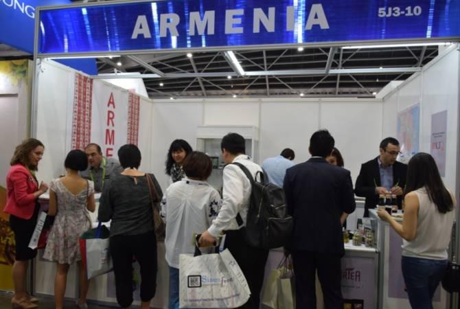 Հայաստանի 5 արտադրող առաջին անգամ մասնակցել են Սինգապուրում անցկացվող միջազգային ցուցահանդեսին