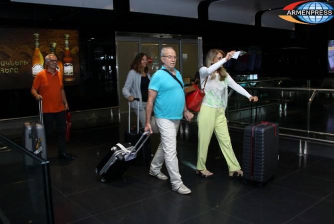 Հայաստանի օդանավակայաններում ուղևորահոսքն աճել է 9.2 %-ով