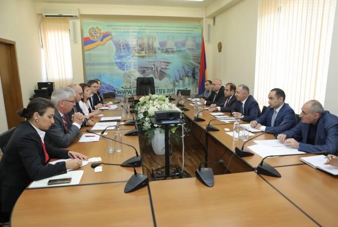 Արթուր Գրիգորյանը KFW տնօրենի հետ քննարկել է Հայաստան-Վրաստան 400 կՎ էլեկտրահաղորդման գծի կառուցման հետ կապված հարցեր