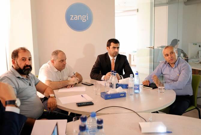 Հակոբ Արշակյանն այցելել է Zangi գրասենյակ