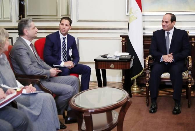 Քննարկվել են ԵԱՏՄ-ի և Եգիպտոսի միջև ազատ առևտրի գոտու շուրջ բանակցությունների մեկնարկի ժամկետները