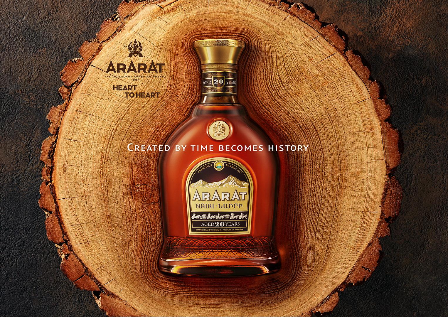 Հայաստանի սրտից․ ARARAT-ի նոր գովազդային արշավ՝ եռապատկեր վարպետության, բնության և ժամանակի մասին