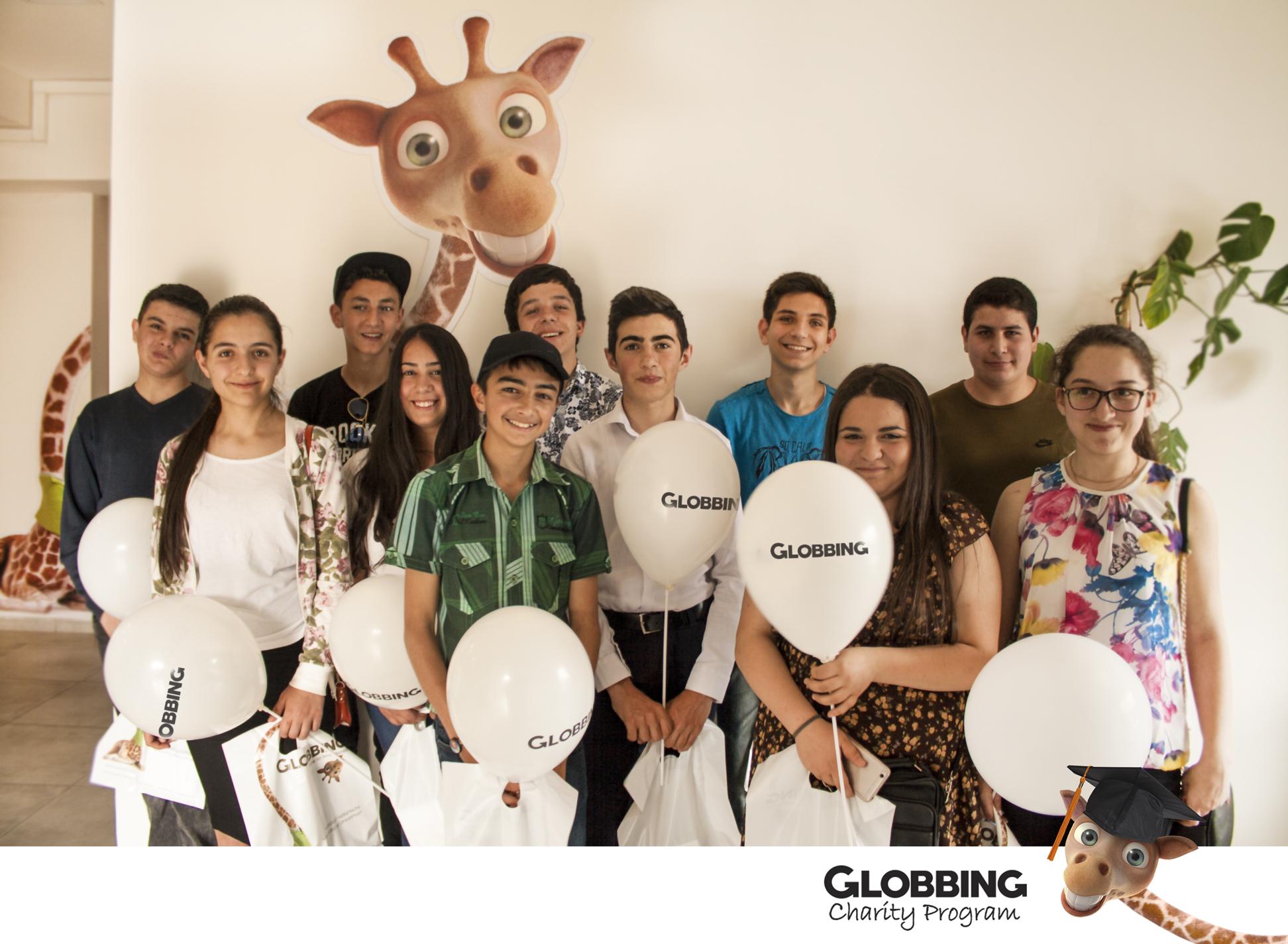 2018թ-ի հունիսի 1-ից մեկնարկել է Globbing Charity Program բարեգործական ծրագիրը