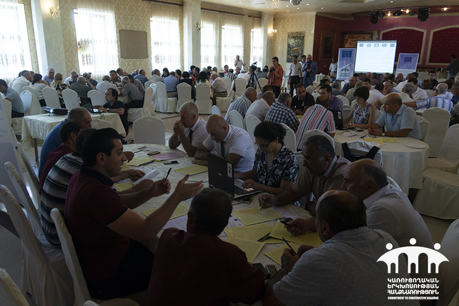 Հայաստանի 4 մարզում տեղի են ունեցել Town Hall ձևաչափով աշխատաժողովներ