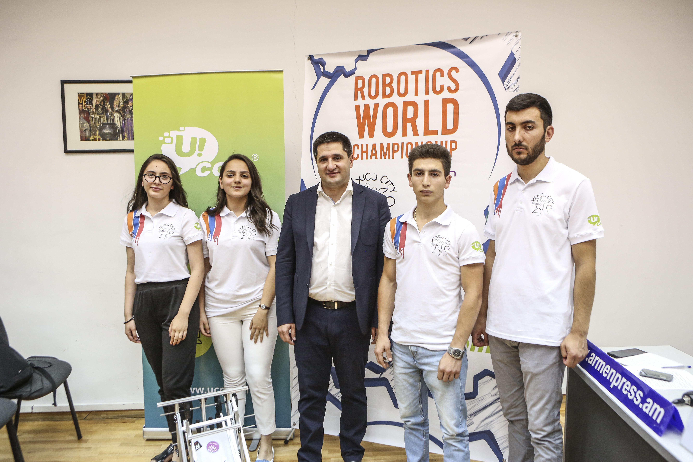 Ucom. Արմաթի սաները Հայաստանը կներկայացնեն First Global ռոբոտների միջազգային մրցույթում