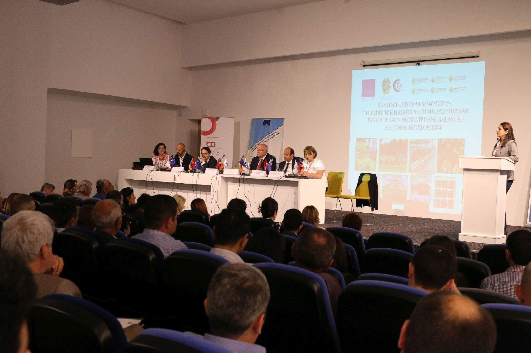 Բիզնես Արմենիայի թիմը` Դիլիջանում կայացած «Գնորդ-վաճառող» խորագրով համաժողովին