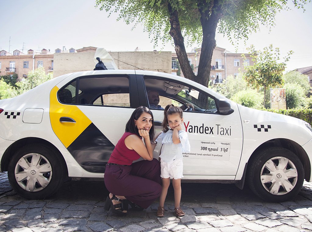 Yandex.Taxi. Երևանում մեկնարկում է մանկական նստատեղով տաքսի ծառայությունը