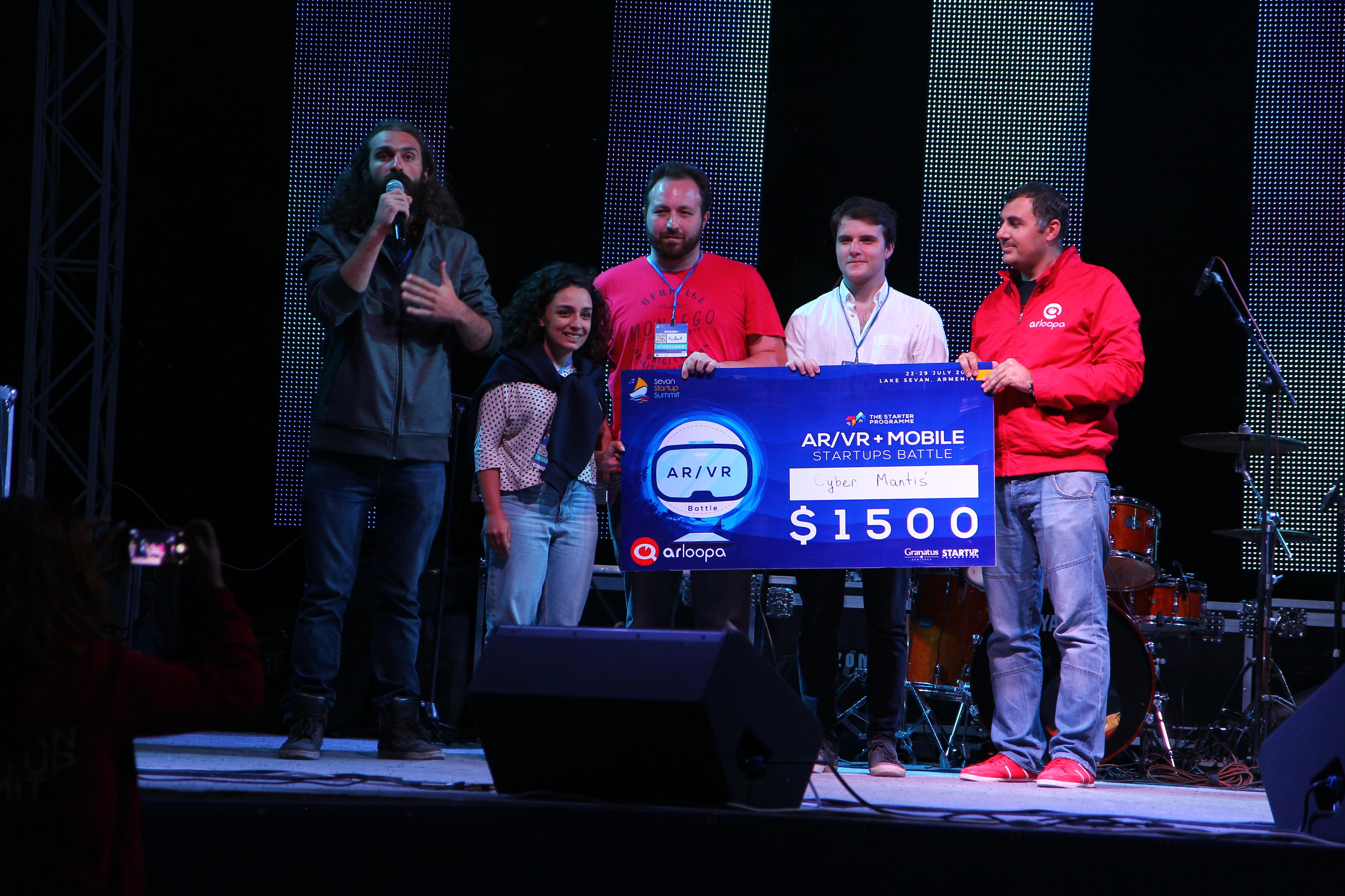 Beeline Ստարտափ Ինկուբատորի 4 ռեզիդենտ մրցանակ է ստացել Սևան Ստարտափ Սամմիթ 2018-ին