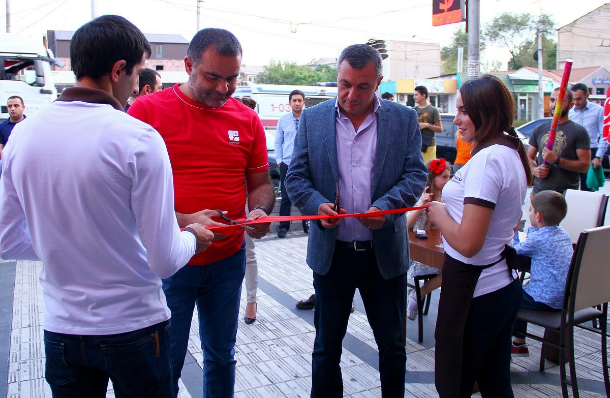 Կարասի 16-րդ ռեստորանը բացվեց Չարբախում
