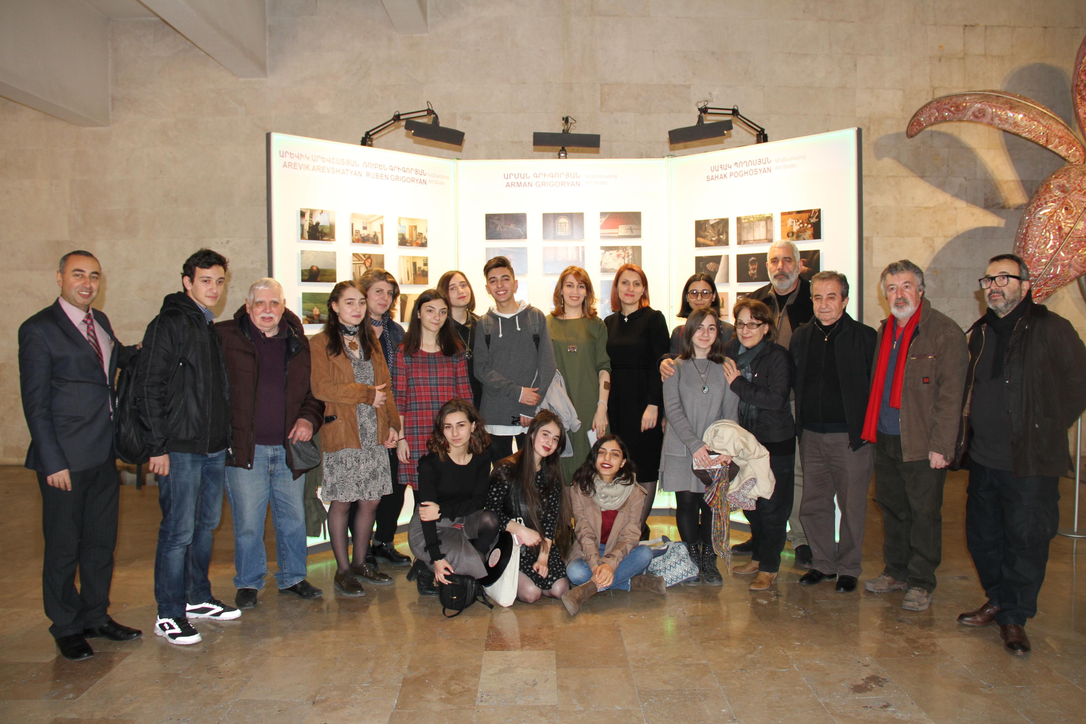 Beeline. Գաֆէսճեան արվեստի կենտրոնում բացվեց «ԱՐՎԵՍՏԱՆՈՑ» նախագիծ-ցուցադրությունը