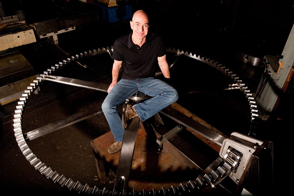 Amazon-ի հիմնադիրը 10,000 տարի աշխատանքի համար նախատեսված հսկայական ժամացույց է կառուցում