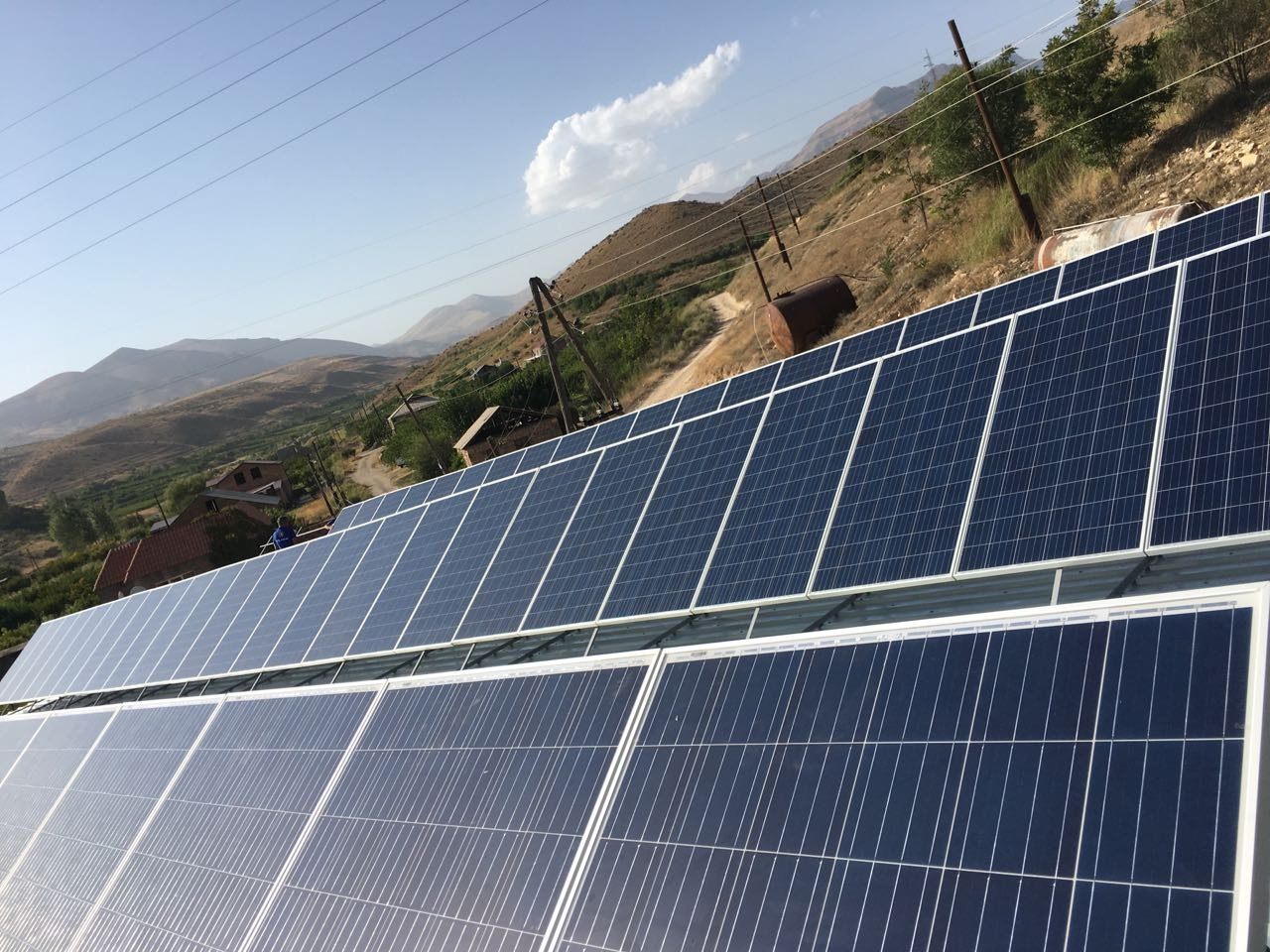 ԱԳԲԱ Լիզինգի ֆինանսական աջակցությամբ Արենիում արևային էլեկտրակայանը շահագործման է հանձնվել