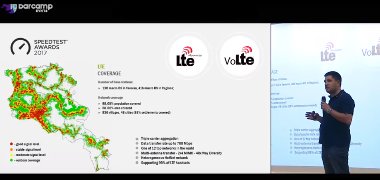 Հայկ Եսայան․ նույնիսկ այն գյուղերում, որտեղ բնակչությունը 200-300 հոգի է, մենք ունենք LTE ծածկույթ