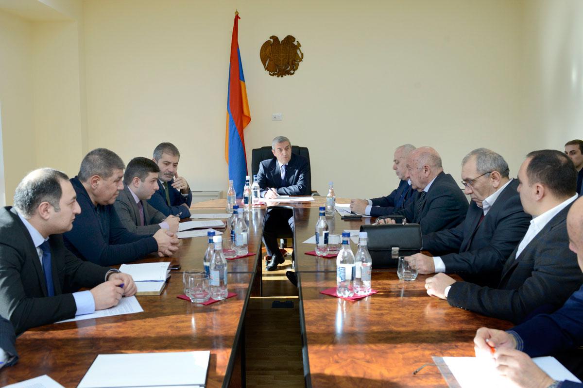 Վահան Մարտիրոսյանն ընդունել է բեռնափոխադրող ընկերությունների ներկայացուցիչներին