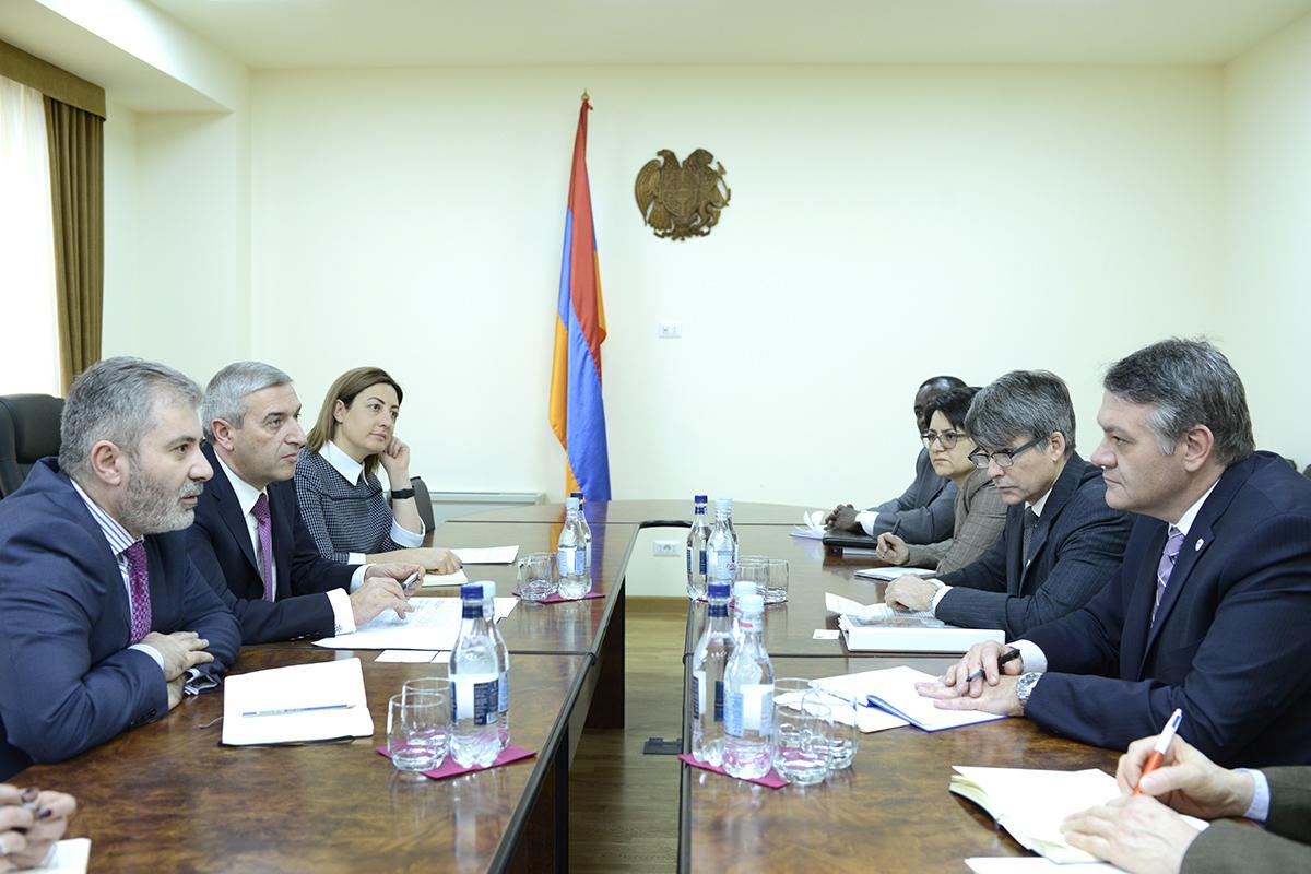 Վահան Մարտիրոսյանն ընդունել է ԱՄՆ պետքարտուղարի գլխավոր փոխտեղակալին
