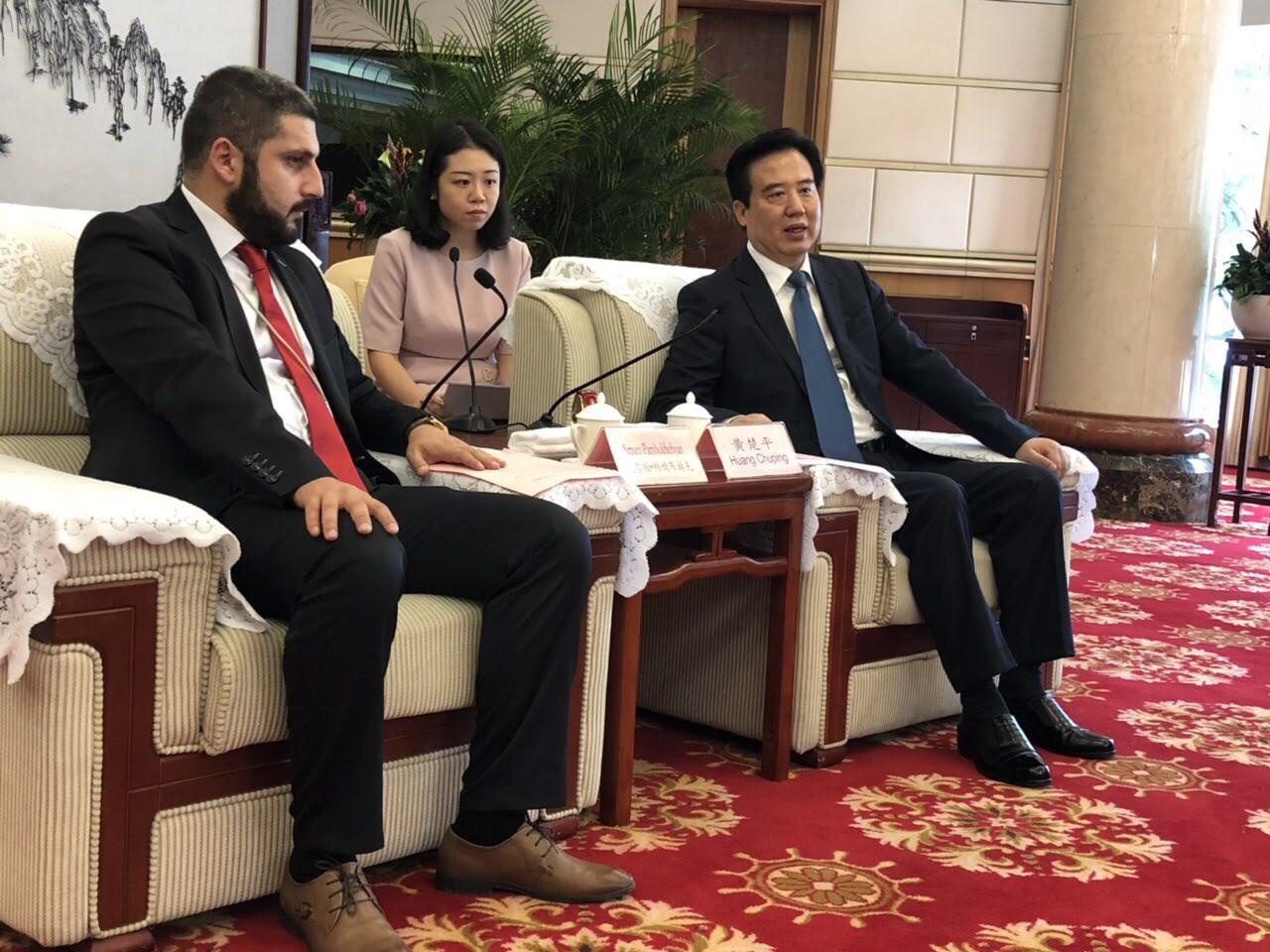 Հայաստանի և Չինաստանի Հուբեյ նահանգի միջև չեն բացառվում համագործակցության հնարավորությունները