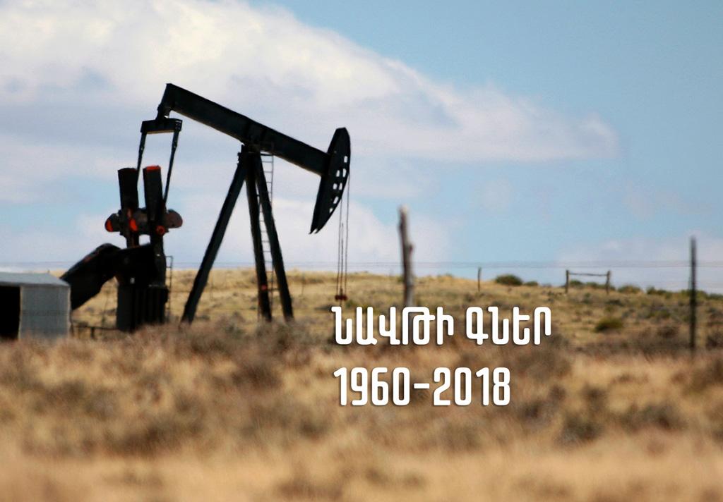 Նավթի գներ՝ 1960-2018թթ. ինֆոգրաֆիկա