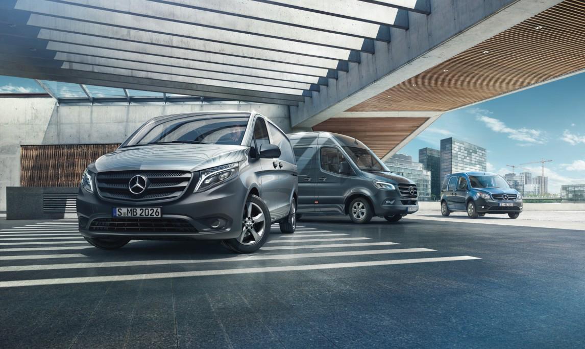 Ավանգարդ Մոթորսը ներկայացրել է Mercedes-Benz մակնիշի կոմերցիոն մոդելների ամբողջական շարքը