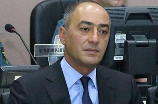 Կարեն Խաչատրյանը գրավի դիմաց ազատ արձակվեց