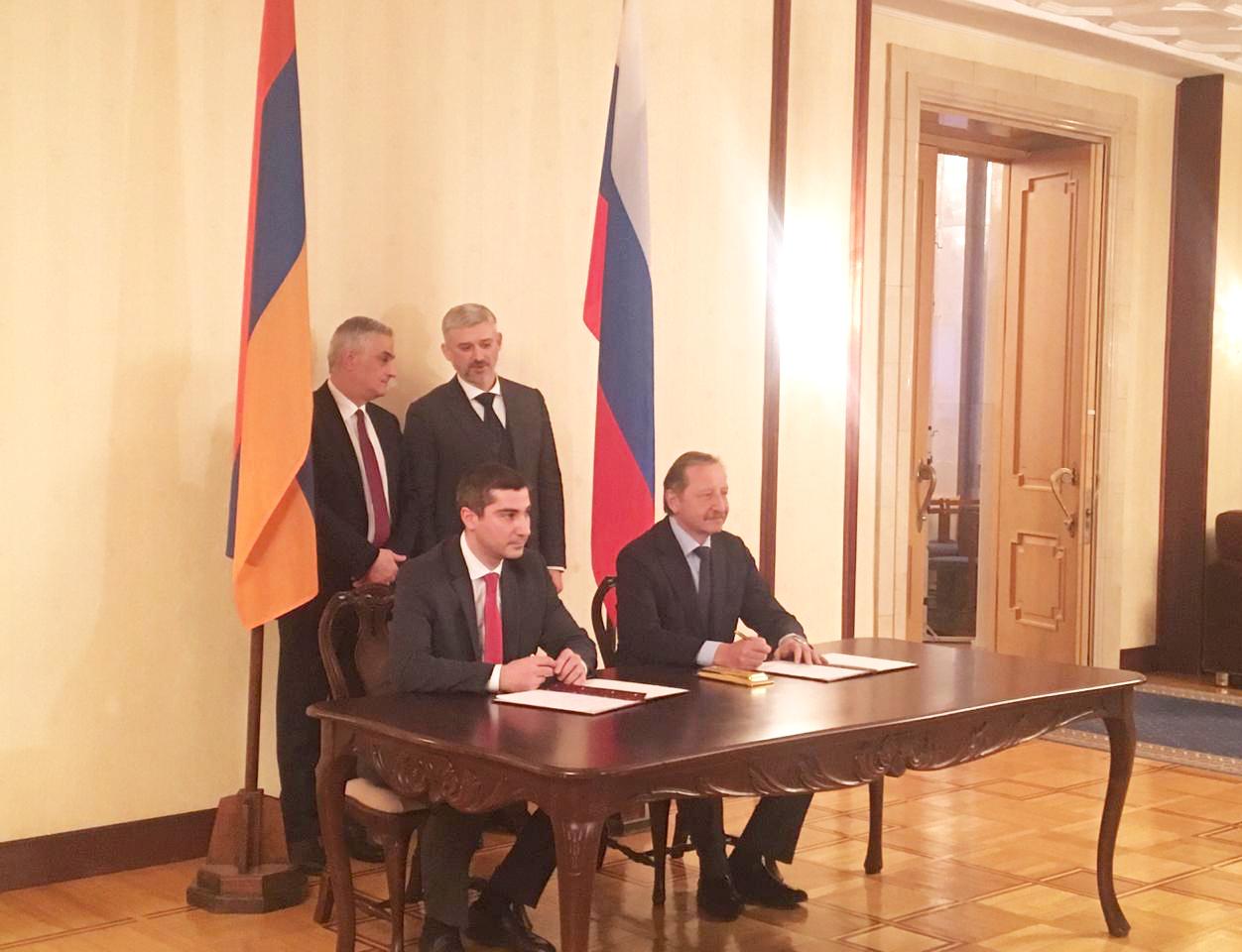 Ստորագրվել է Հայաստանի և Ռուսաստանի զբոսաշրջության լիազոր մարմինների 2019-2021թթ․ համատեղ գործողությունների ծրագիրը