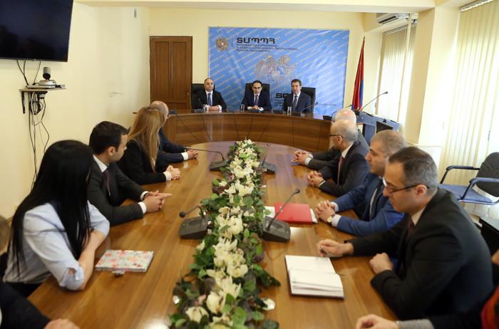 Փոխվարչապետ Տիգրան Ավինյանը ներկայացրել է ՏՄՊՊՀ նորընտիր նախագահին