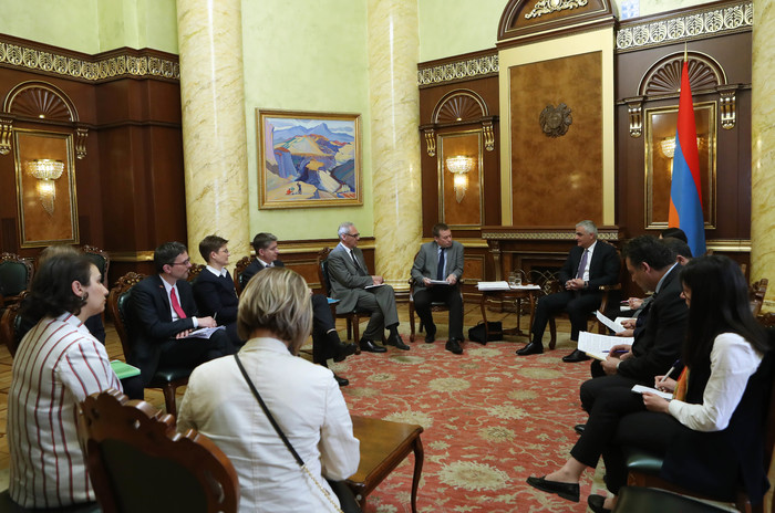 Փոխվարչապետ Մհեր Գրիգորյանը ներկայացրել է Ազգային վենչուրային ֆոնդի ստեղծման նախագիծը