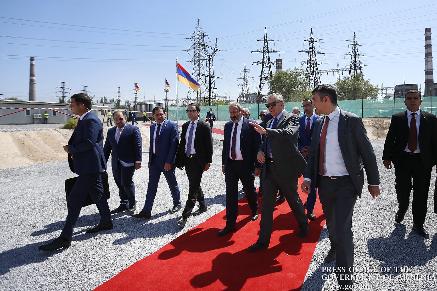 Երևանում մեկնարկել է 250 մեգավատ հզորությամբ նոր էլեկտրակայանի կառուցման շինարարությունը