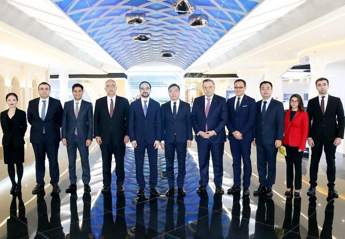 Փոխվարչապետ Տիգրան Ավինյանը հանդիպել է Huawei ընկերության փոխնախագահին