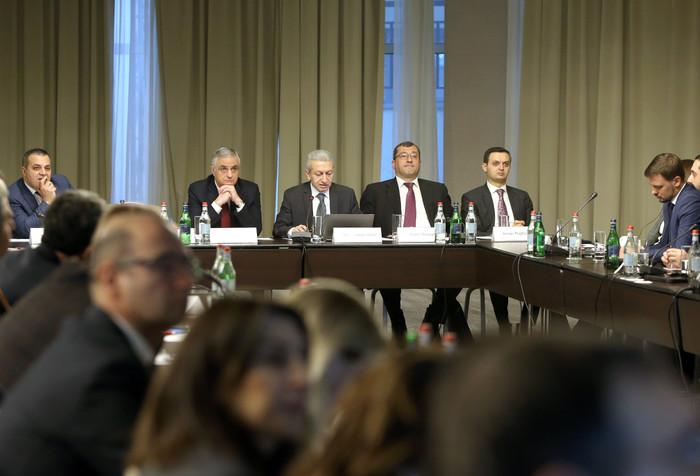 Մհեր Գրիգորյանը մասնակցել է «Պետական ֆինանսների կառավարման համակարգի 2019-2023 թվականների բարեփոխումների ռազմավարությունը» թեմայով քննարկմանը