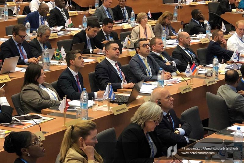 Դավիթ Անանյանը մասնակցել է Հարկային մարմինների ներեվրոպական կազմակերպության 23-րդ ընդհանուր Ժողովին