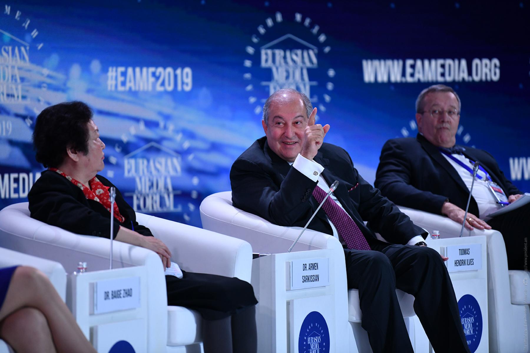 Հայաստանը կարող է դառնալ Եվրասիայի ու Եվրամիության միջև համագործակցության կամուրջ