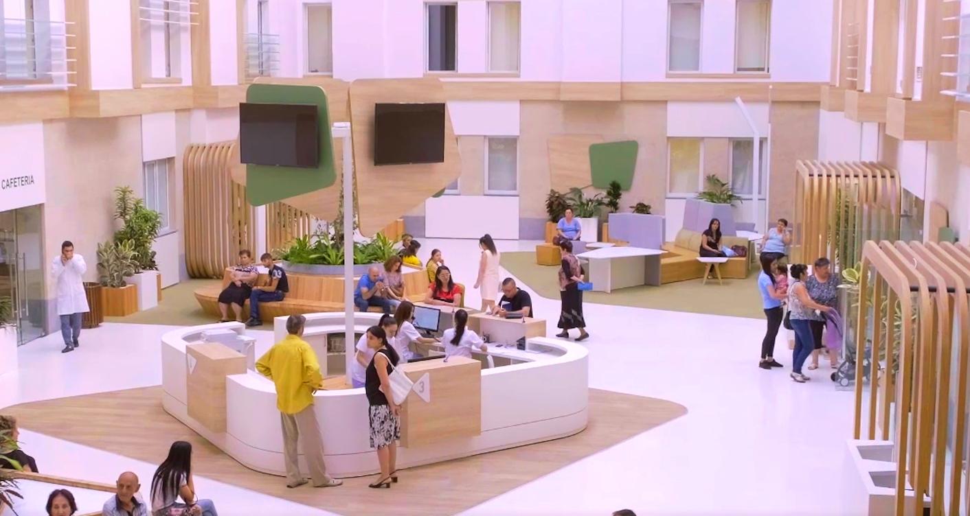 Շենգավիթ բժշկական կենտրոնի նոր մասնաշենքը
