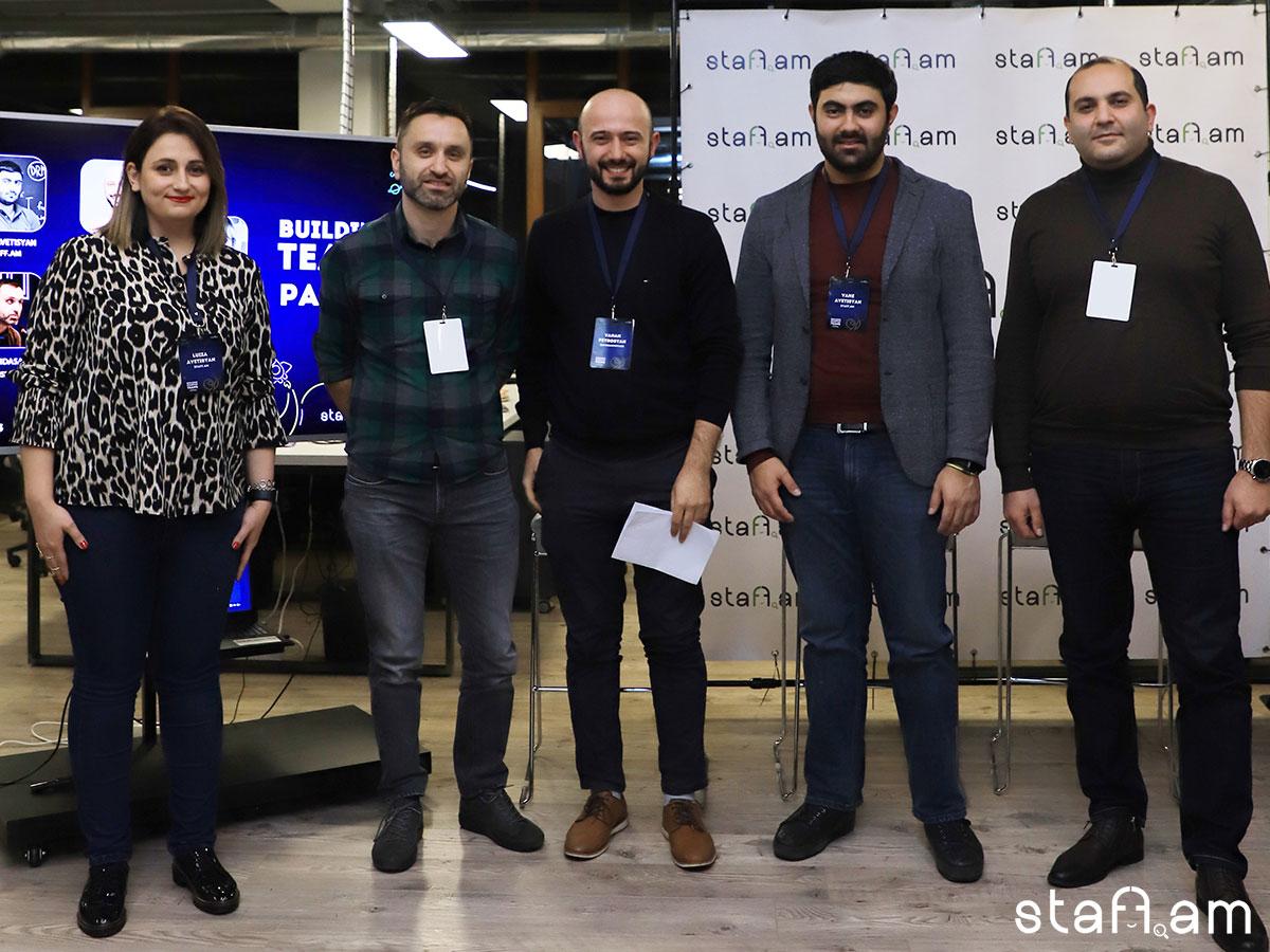 Կայացավ «Building startup teams: Discussion with CEOs and Co-founders» հանդիպում քննարկումը