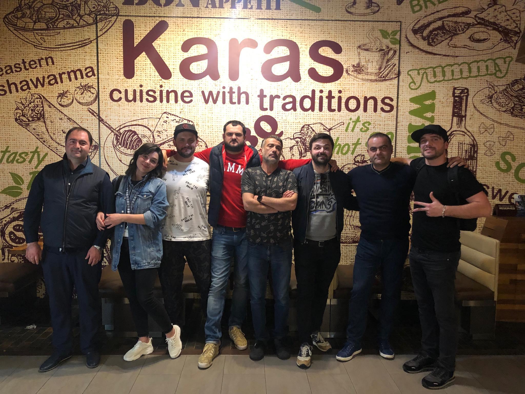 Comedy Club-ը հյուրընկալվել է Կարասի Գլենդելյան ռեստորանում